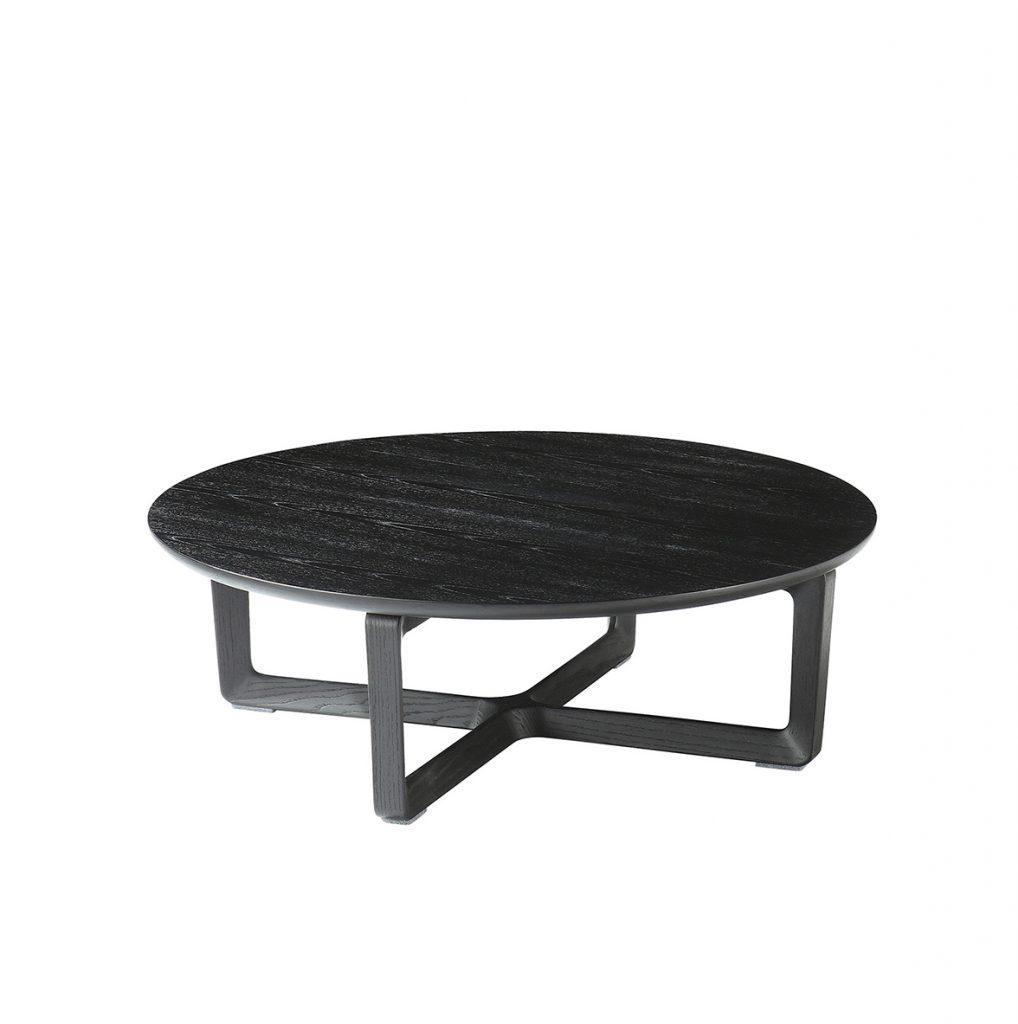 Marco Black Wood Coffee Table