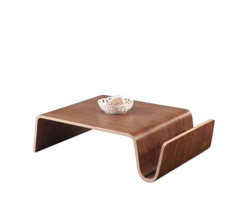 Clark Wood Coffee Table Magazine Rack ROOBBA